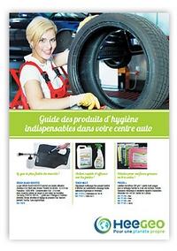 Catalogue spécial centres auto