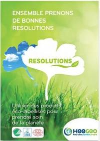 Catalogue spécial gamme résolutions